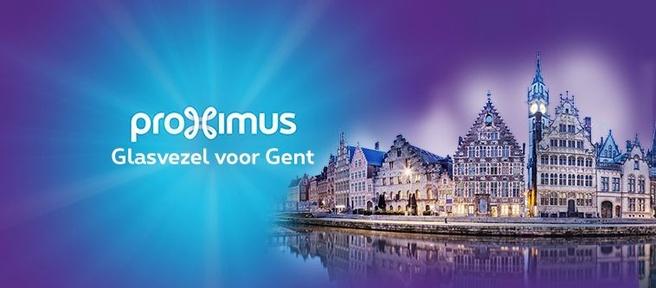 Glasvezel voor Gent
