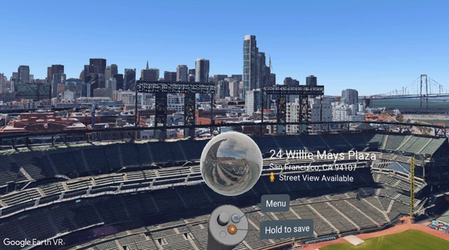 Google Earth VR Street View