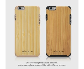 Nillkin Natural Texture Hard Case - Apple iPhone 6(S) - Goud Goud