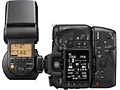 Sony HVL-F58AM - flitser gedraaid (achterkant)