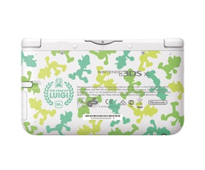 Nintendo 3DS XL Luigi Special Edition Groen