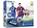Goedkoopste Sony PlayStation Vita WiFi + FIFA 15 (Voucher) + 4GB Zwart