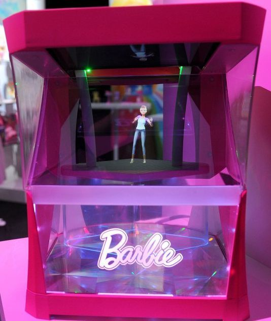 Barbie Hologram New York Toy Fair