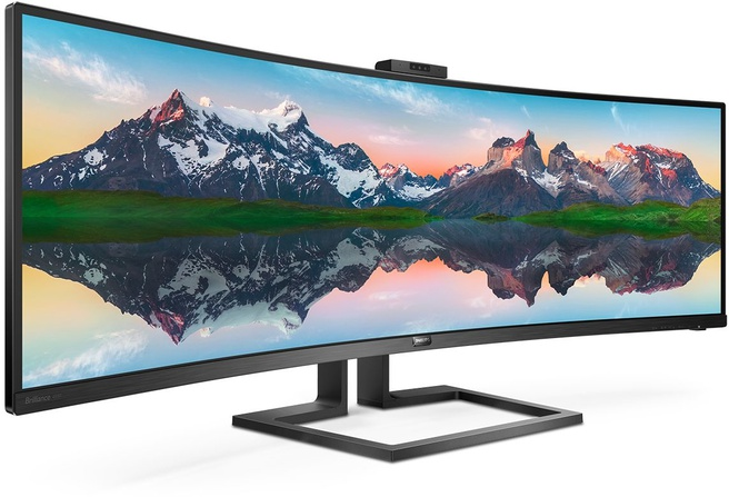 Philips 32:9 SuperWide curved LCD display 499P9H/00