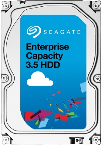 Seagate Enterprise Capacity 3.5 HDD SATA 6Gb/s (2016), 512e Secure, 4TB
