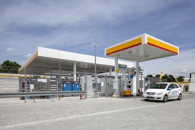 Waterstof tankstation