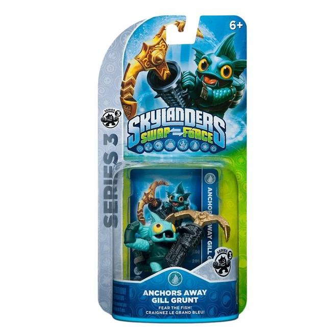 Skylanders Swap Force Gill Grunt, Nintendo 3DS, PlayStation 3, PlayStation 4, Wii, Wii U, Xbox 360, Xbox One