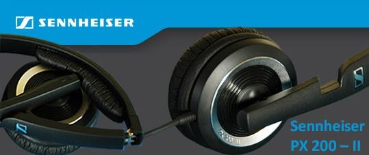 Sennheiser PX 200 - II Specsheet