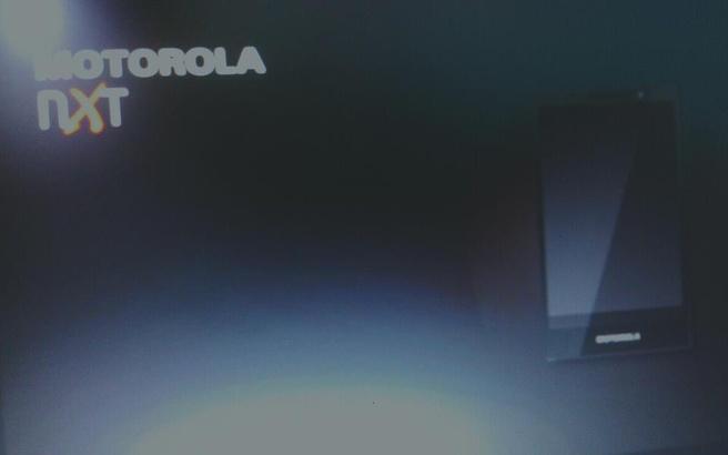 Motorola X Phone presentatie met render