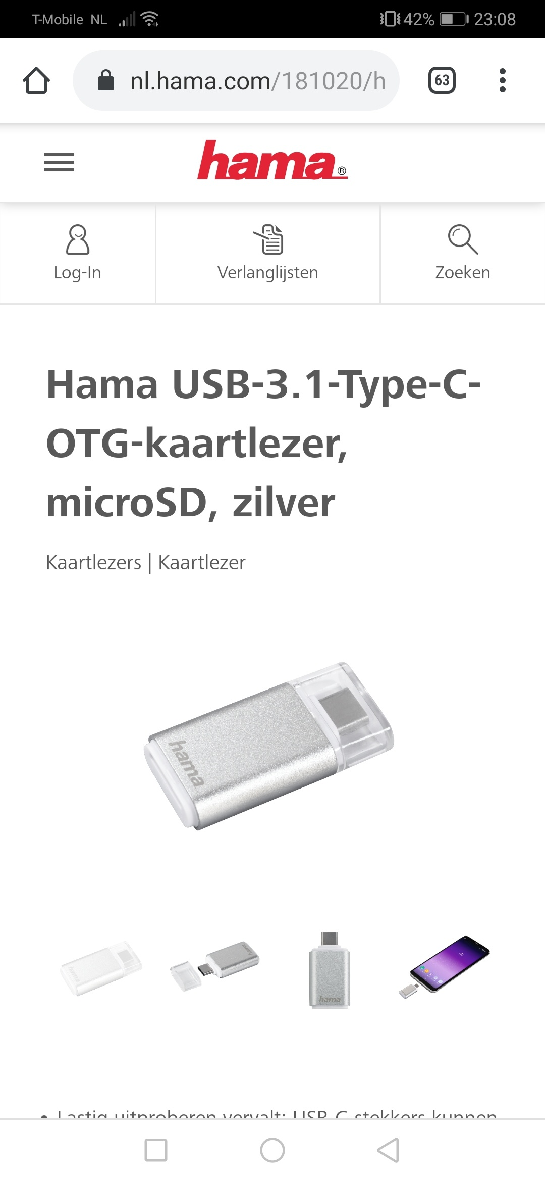 Hama card reader