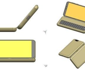Render van Pinephone Keyboard-cover