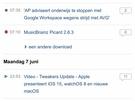 iOS 15 preview - Livetekst/Safari
