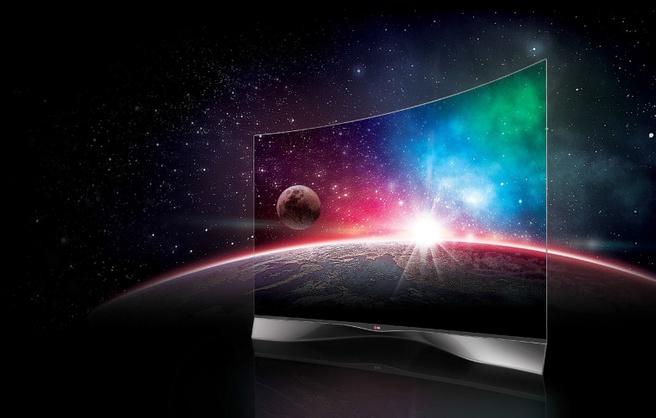 LG's tv met gebogen oled-scherm