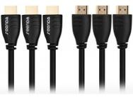 Goedkoopste Seenda HDMI naar HDMI kabel - 5 meter - set van 3 stuks