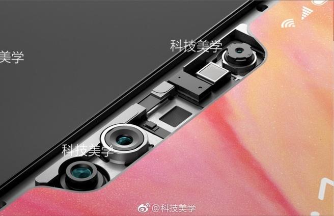 Vermoedelijke notch Xiaomi Mi 8