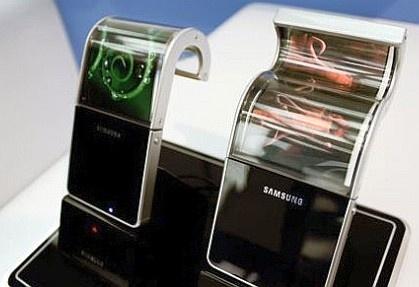 Samsung flexibele oled prototypes