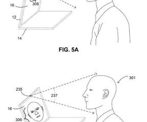 Google-patent automatisch openvouwende laptop