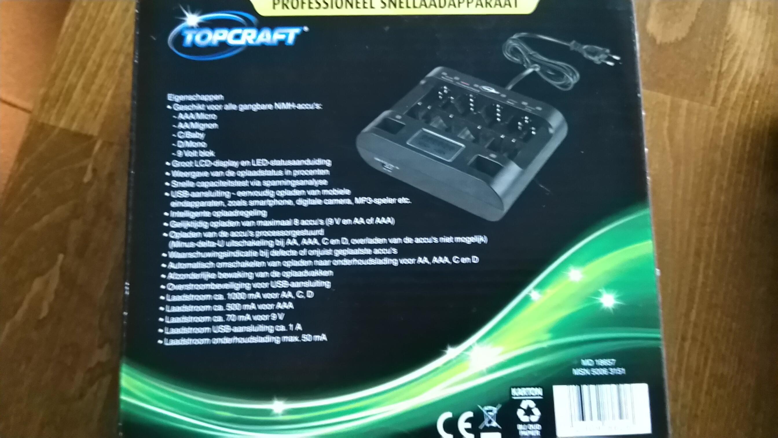 batterijlader