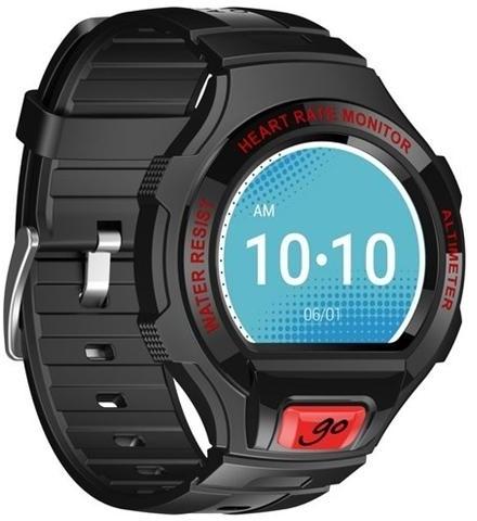 Alcatel Smartwatch GO Black/Red (SM03-2BALWE7)