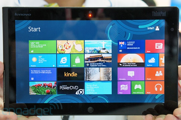 Lenovo Thinkpad met Windows 8