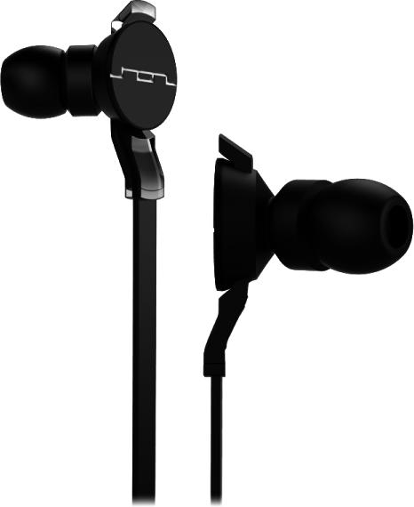 Sol Republic Amps HD (i6) (Zwart)