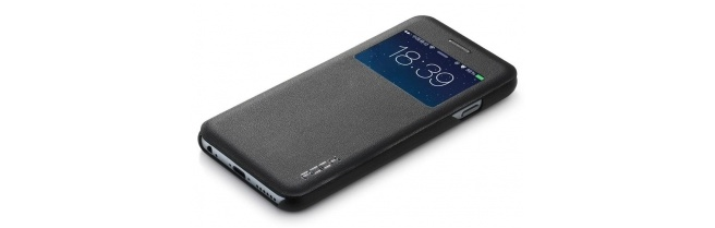 Rock View-Window Case Apple iPhone 6 (UNI Serie Black)