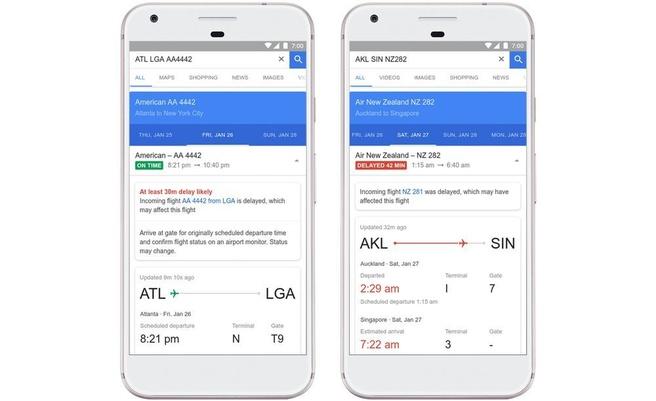 Google Flights vertragingen voorspellen