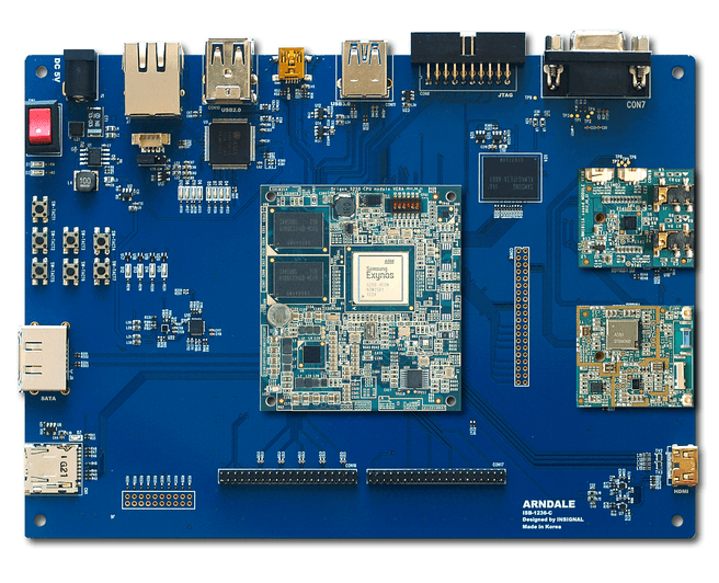 Arndale Board: Exynos development-bord