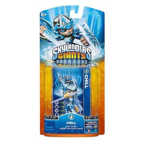 Skylanders Giants Chill, Nintendo 3DS, Wii U, Xbox 360