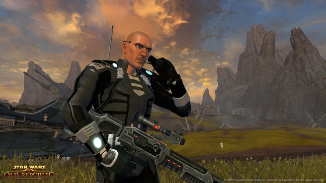 Imperial Agent in Star Wars: The Old Republic