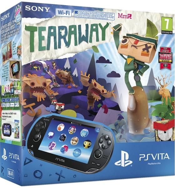 Sony PlayStation Vita WiFi + Tearaway + 4GB Zwart