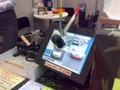 Cebit - beeldscherm-test