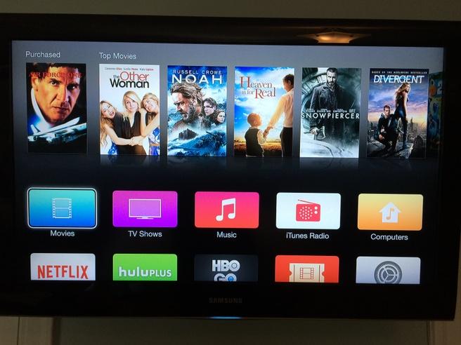 Apple TV, nieuwe interface