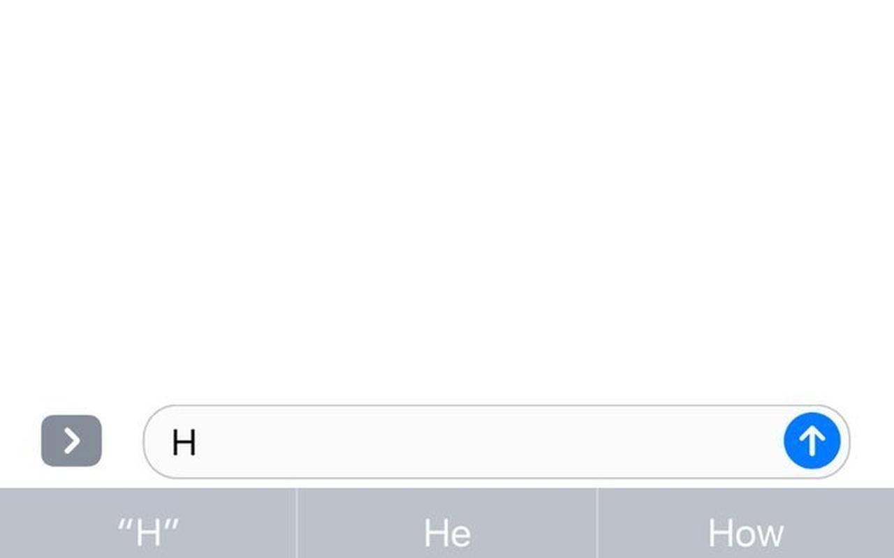 Eenhandig toetsenbord iOS in Xcode