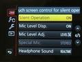 Lumix GH3 menu film