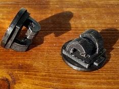 Geprinte spatbord clip