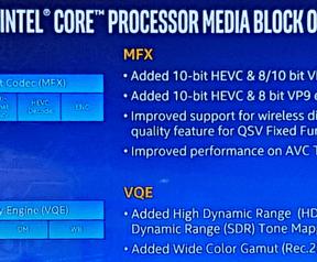Kaby Lake media engine-verbeteringen