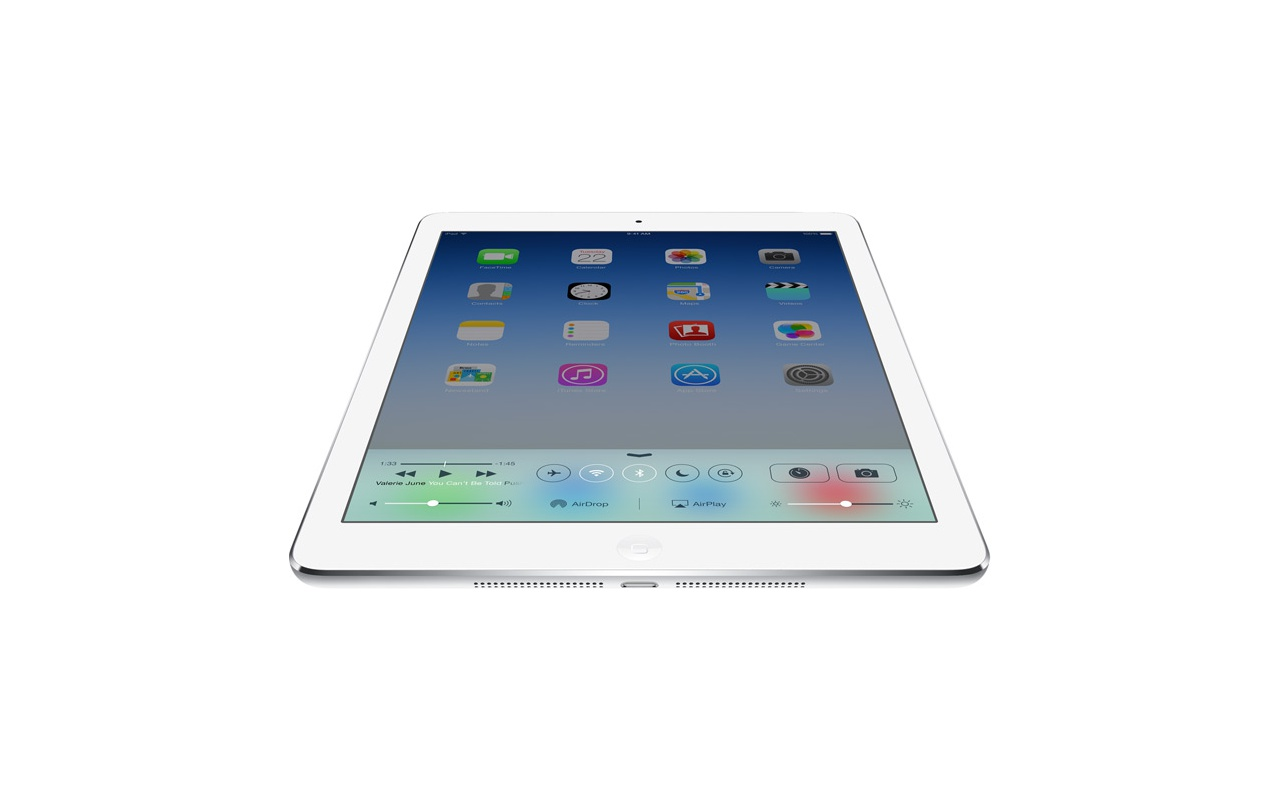 apple ipad air wifi 16gb zilver specificaties tweakers. Black Bedroom Furniture Sets. Home Design Ideas