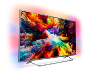 Philips Ultraslanke 4K-TV powered by Android TV 50PUS7303/12