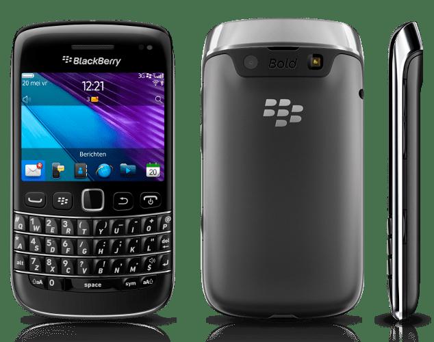 BlackBerry Bold  9790 Zwart