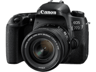 Canon EOS 77D + 18-55mm f/4.0-5.6 IS STM Zwart