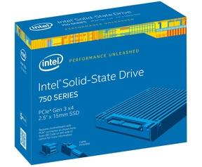 Intel 750 SSD PCIe 3.0 x4 Full Height 1,2TB