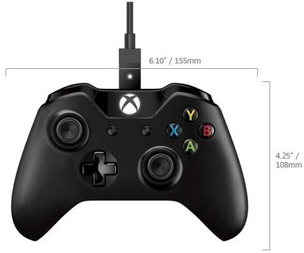 Xbox One Controller + Cable for Windows