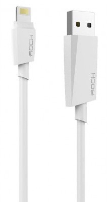 Rock M3 Lightning kabel - MFI Apple certificaat - 2m - White