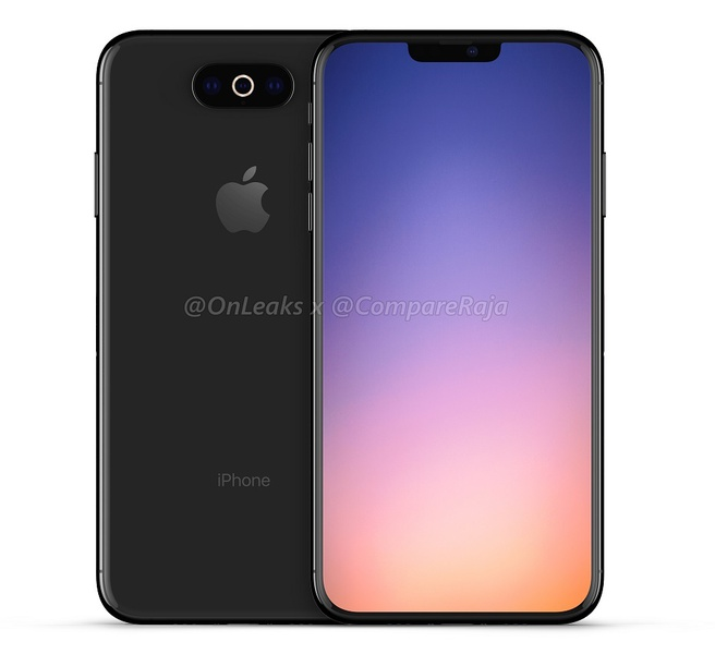 iPhone 11 render OnLeaks