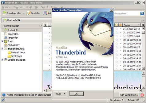 Mozilla Thunderbird 3.0