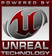 Powered by Unreal technology logo