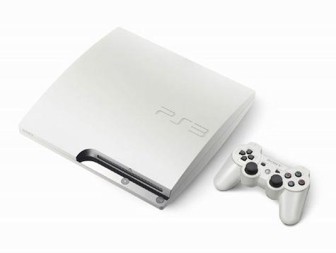 Playstation 3 Slim White