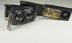 Vier keer de Nvidia GTX 460-videokaart