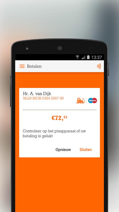 ING Mobiel betalen